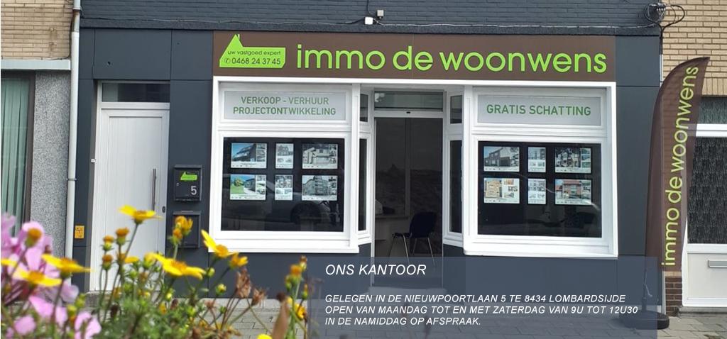 kantoor Immo De Woonwens Lombardsijde